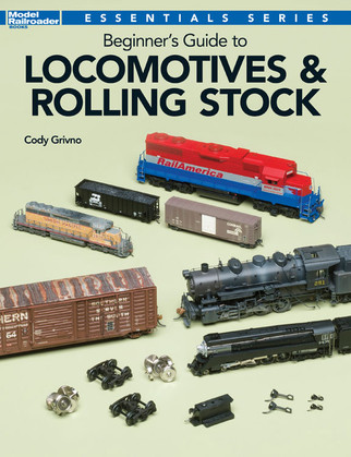 12800 Kalmbach Publishing Beginner's Guide to Locomotives & Rolling Stock