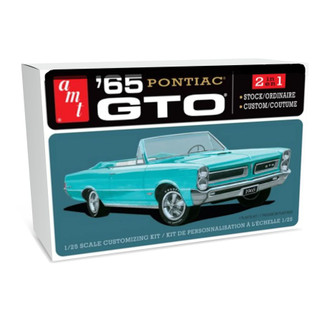 AMT1191 AMT '65 Pontiac GTO 1/25 Scale Plastic Model Kit