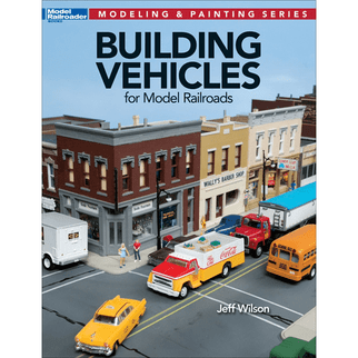 12810 Kalmbach Building Vehicles for Model Railroads