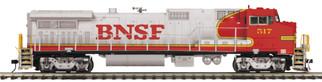 20-20915-1 O Scale MTH Premier Dash 8-40BW Diesel Engine w/ProtoSound 3.0(Hi-Rial Wheels)-BNSF (Warbonnet) Cab No. 517