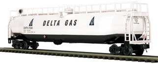 20-96808 O Scale MTH Premier 33K Gallon Tank Car-Delta Gas
