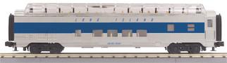 30-68038 O Scale MTH RailKing 60' Streamlined Full-Length Vista Dome Car-Long Island