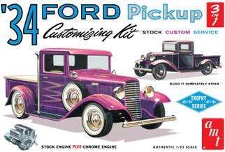AMT1120 AMT '34 Ford Pickup Customizing Kit 1/25 Scale Plastic Model Kit