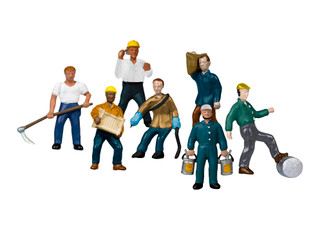 1957220 HO Scale Lionel Work People