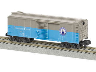 2019091 S Scale American Flyer Lancaster & Chester Boxcar #611