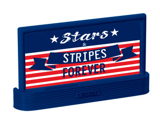 2030050 O Scale Lionel Stars & Stripes Billboard 3-Pack