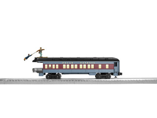 2027800 O Scale Lionel The Polar Express Skiing Hobo Observation Car