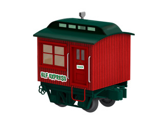 2027012 O Scale Lionel Christmas Disconnect Coach