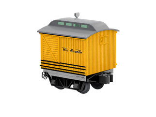 2027041 O Scale Lionel Rio Grande Disconnect Baggage Car