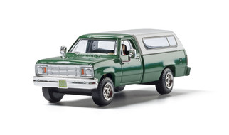 AS5364 HO Scale Woodland Scenics Camper Shell Truck