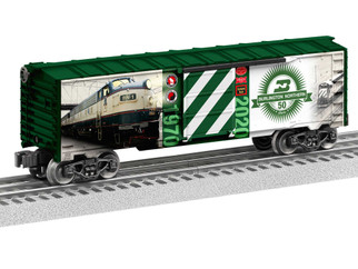 2038040 O Scale Lionel Burlington Northern 50th Anniversary Boxcar