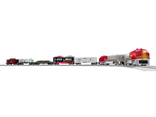 2022120 O Scale Lionel 120th Deluxe LC+2 F Set-Santa Fe