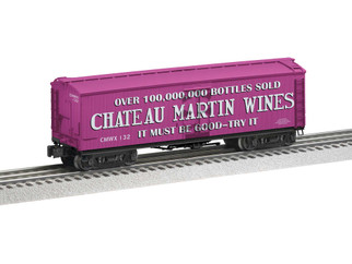 2026750 O Scale Lionel Chateau Martin Milk Car #132