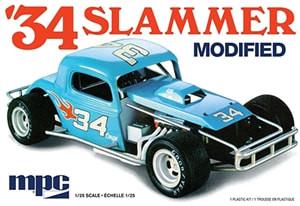 MPC927 MPC '34 Slammer Modified 1/25 Scale Plastic Model Kit
