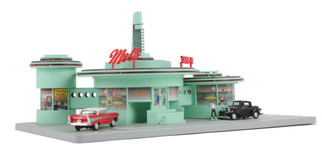 30-9188 O Scale MTH Operating Drive-In Diner