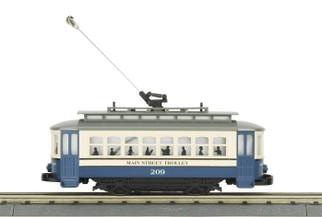 30-5191 O Scale MTH RailKing Bump-n-Go Trolley Main Street