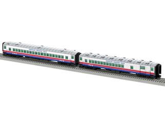 """2027340 O Scale Lionel American Freedom Train 18"""" Passenger Car 2-Pack 1"""