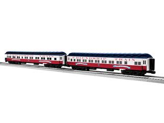 "2027330 O Scale Lionel Friendship Train 18"" Sleeper 2-Pack"