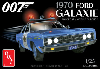 AMT1172 AMT 70 Ford Galaxie Police Car 1/25 scale Plastic Model Kit