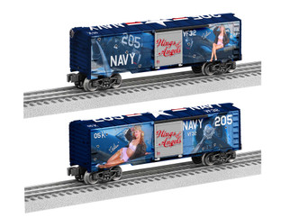 2038210 O Scale Lionel Wings of Angels-Asheton Goodenough MUSA Boxcar