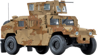 23-10005 O Scale MTH Humvee-US Army (Desert)