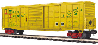 20-93913 O Scale MTH Premier 50' Waffle Box Car-Illinois Terminal