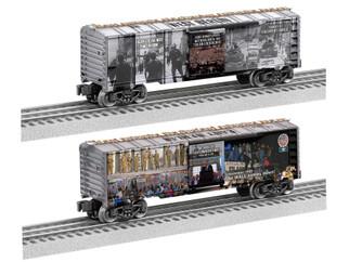 2038080 O Scale Lionel Berlin Wall Boxcar