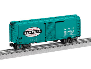 "2026170 O Scale Lionel New York Central ""Flat Spot"" FreightSounds Boxcar #163194"