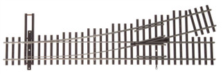 948-83013 HO Scale WalthersTrack Code 83 Nickel Silver DCC Friendly Number 4 Turnout Left