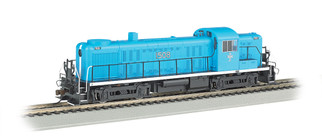 68604 HO Scale Bachmann ALCO RS-3 w/E-Z App Train Control Locomotive-Boston & Maine #1508 McGinnis