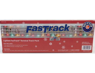 2025070 O Scale Lionel Lighted FasTrack Terminal Track Pack