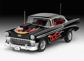 07663 Revell '56 Chevy Custom 1/24 Scale Plastic Model Kit