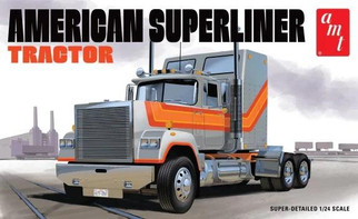 AMT1235 AMT American Superliner Tractor 1/24 Scale Plastic Model Kit