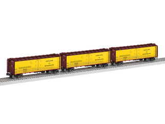 2026990 O Scale Lionel Pennsylvania VISION Reefer 3-Pack