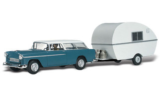 AS5328 N Scale Woodland Scenics Thompson's Travelin' Trailer