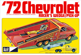 MPC885 MPC '72 Chevrolet Racer's Wedge/Pick-Up 1/25 Scale Plastic Model Kit