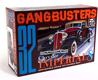 MPC926 MPC Gangbusters 32 Imperial Convertible Coupe 1/25 Scale Plastic Model Kit