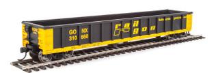 910-6252 HO Scale WalthersMainline 53' Railgon Gondola-GONX #310660