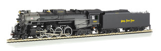52404 HO Scale Bachmann Nickel Plate #759-DCC Sound Value 2-8-4 Berkshire
