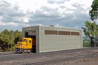 35115 HO Scale Single Stall Shed