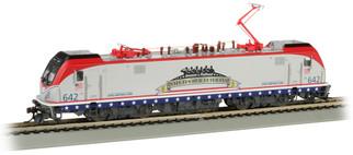 67403 HO Scale Bachmann Amtrak #642 Salutes Our Veterans-SIEMENS  ACS-64-DCC Sound