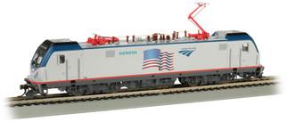 67404 HO Scale Bachmann Amtrak Demonstrator(Flag)-SIEMENS-ACS-64-DCC Sound