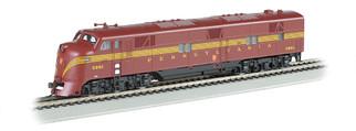 66601 HO Scale Bachmann Pennsylvania-Tuscan 5 Stripe E7-A DCC Sound Value