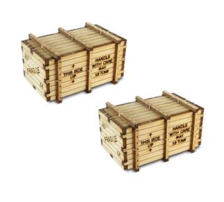 39110 HO Scale Bachmann Machinery Crates-Kit (2)