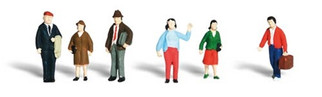 A2149 Woodland Scenics N  Scale Scenic Accents(R) Figures General Public