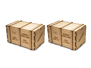 39112 O Scale Machinery Crates (2)