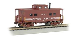 16823 HO Scale Bachmann Northeast Steel Caboose-Western Maryland #1866