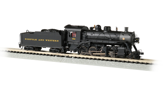 51353 N Scale Bachmann Norfolk & Western #722 2-8-0 DCC ECONAMI Sound Value