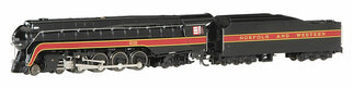 53252 N Scale Bachmann N&W Class J 4-8-4 DCC Sound Value