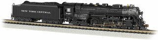 53652 N Scale Bachmann New York Central #5420 (As Delivered) 4-6-4 Hudson